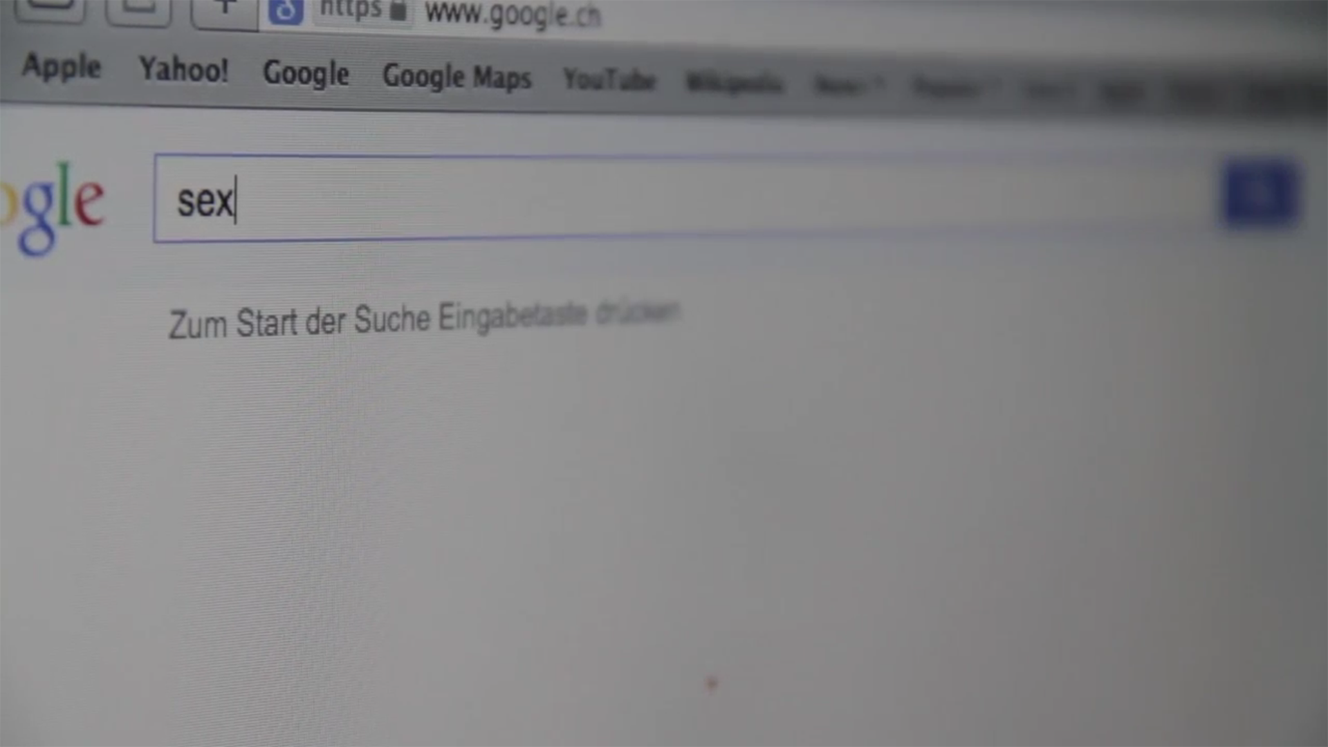 TV BEITRAG – Internet Pornosucht